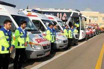 اعزام ۳۶ امدادگر اصفهانی به مرز خسروی در آستانه اربعین حسینی