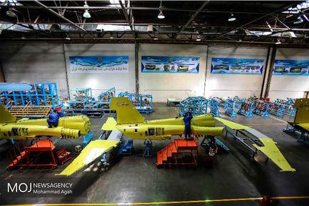 افتتاح خط تولید جنگنده کوثر