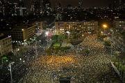 تظاهرات گسترده در سرزمین های اشغالی در اعتراض به نتانیاهو