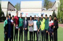 صالحی امیری از تمرینات امروز تیم ملی بوکس جوانان بازدید کرد