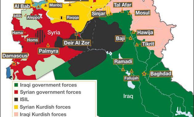 داعش 90 درصد مناطق قلمرو خود را از دست داده است