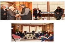 دیدار ظریف با نخستوزیر پاکستان