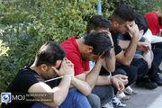 دستگیری 181 جیب بر در متروی تهران در نیمه اول سال