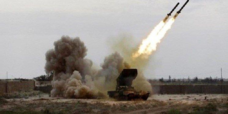 حمله موشکی متجاوزان سعودی به صعده یمن