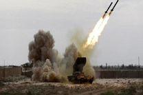 حمله موشکی یمنیها به مواضع ائتلاف سعودی