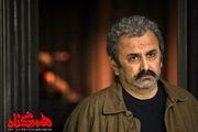 رونمایی از گریم حبیب رضایی در سریال هم گناه