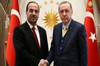 اردوغان با رئیس مخالفان سوریه در آنکارا دیدار کرد