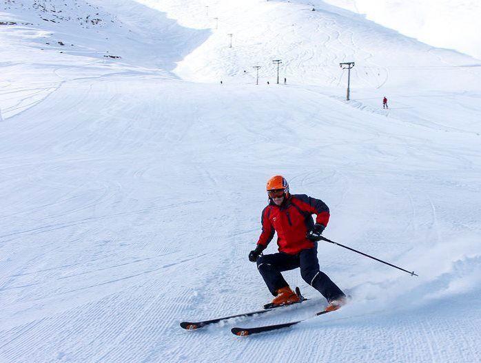 تعطیلی پیست اسکی در شهرستان فریدونشهر