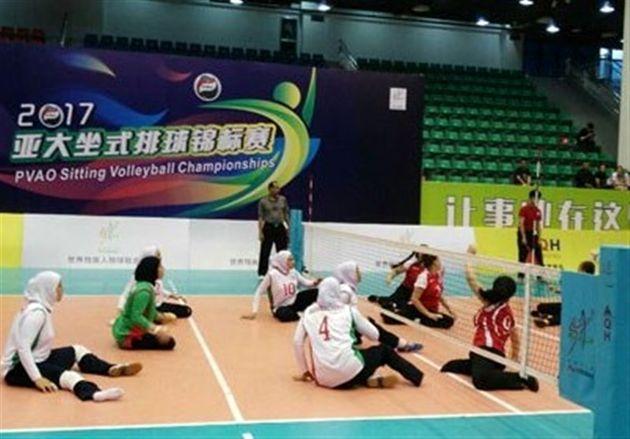 عنوان سومی تیم بانوان ایران و کسب مجوز حضور در مسابقات جهانی و پاراآسیایی