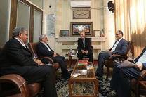 دیدار اعضای هیأت مرکزی نظارت بر انتخابات شوراها با «لاریجانی»