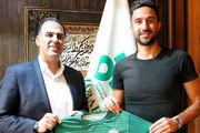 هادی محمدی قراردادش را با تیم ذوب آهن تمدید کرد