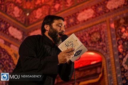 عزاداری شب ششم ماه محرم در مسجد مقدس جمکران