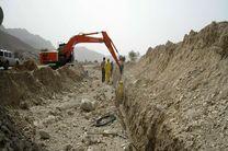 سنگ اندازی شهرداری فولادشهر  در حفاری فیبر نوری