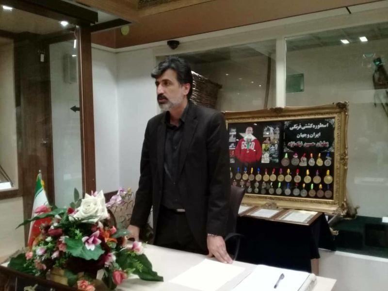 اهدای مدال های اسطوره کشتی فرنگی ایران و جهان به موزه رشت