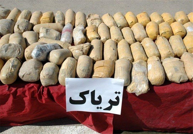 کشف ۴۰ کیلو تریاک از سوداگر مرگ در خلیج فارس