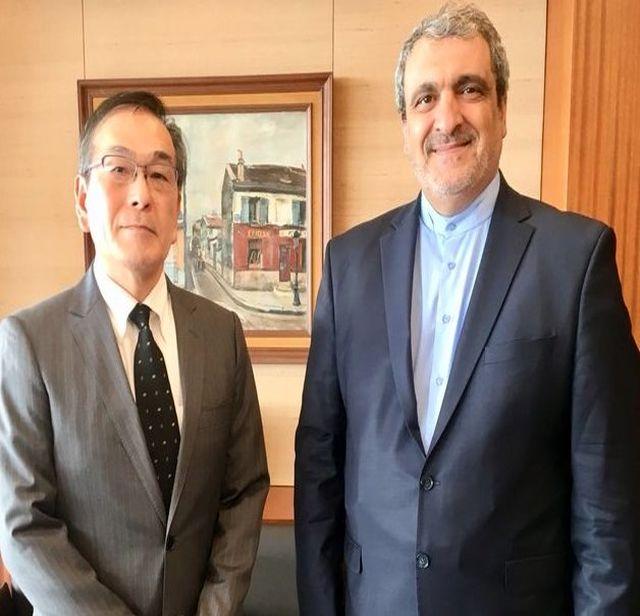 سفیر کشورمان در توکیو با رئیس خبرگزاری کیودو دیدار کرد