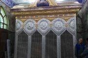 نصب ضریح خیمهگاه حضرت امام سجاد(ع) در کربلای معلی