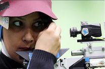 چهارمی تیراندازان ایرانی در میکس تفنگ بادی جام جهانی