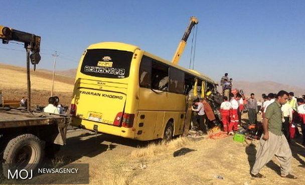 نیمی از رانندگان اتوبوس در تصادفات فوتی و جرحی مقصر هستند