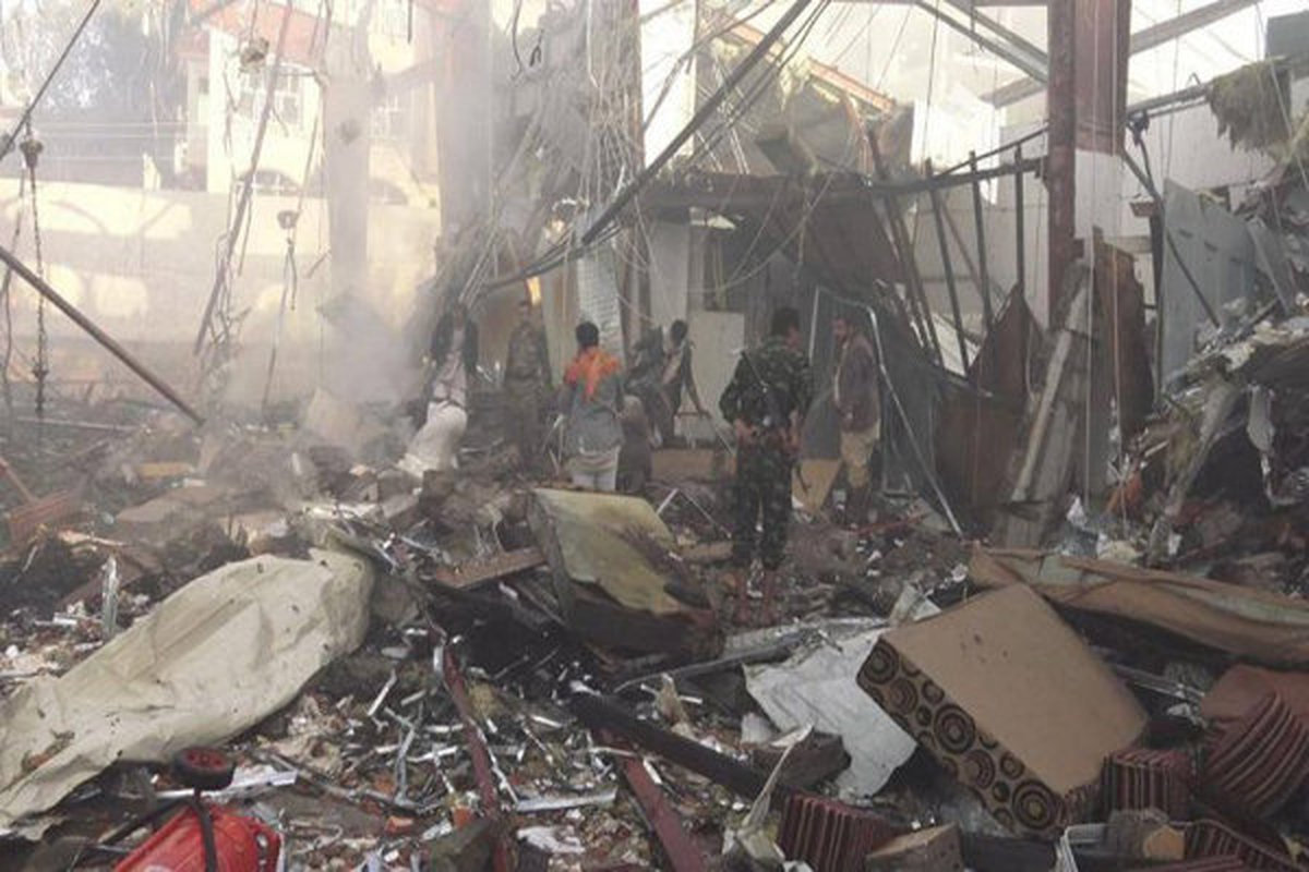 حمله جنگنده های رژیم سعودی علیه مردم یمن