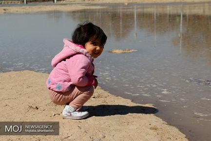 زاینده رود پر آب در نوروز ۹۸