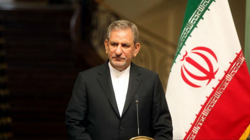 تسلیت جهانگیری در پی حادثه حادثه آتش سوزی اتوبوس در اصفهان