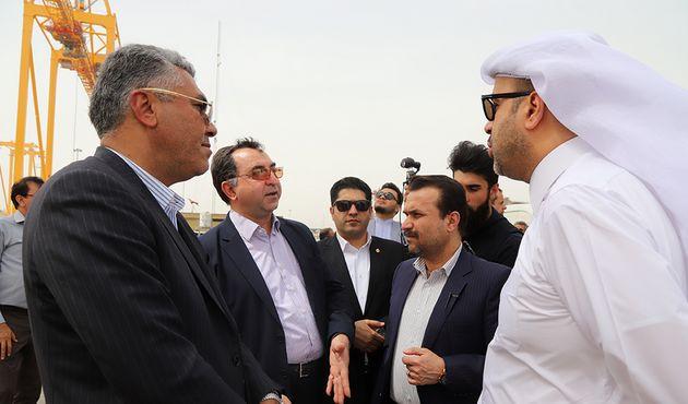 اتصال بنادر قطر به بنادر جنوبی ایران