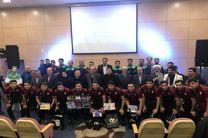 مراسم بدرقه تیم ملی فوتسال به جام ملت های آسیا برگزار شد