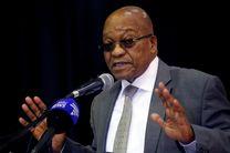 رئیس جمهور آفریقای جنوبی مراتب همدردی خود را با زلزله زدگان اعلام کرد