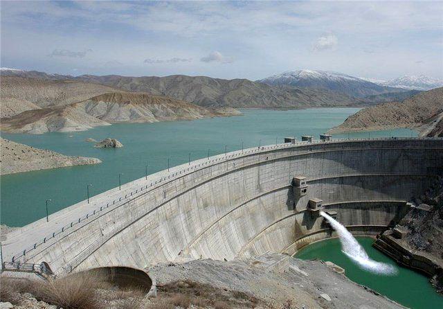 هشدار در خصوص سرریز آب سد گاوشان