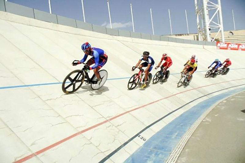قهرمانی آیدین بامراد در مسابقه دوچرخه سواری تبریز