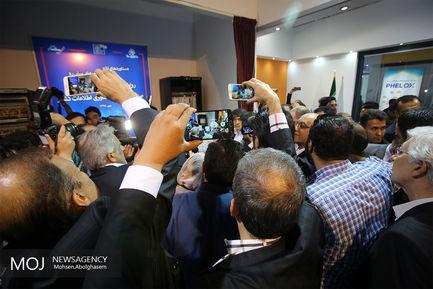 افتتاح نمایشگاه تلکام 2018