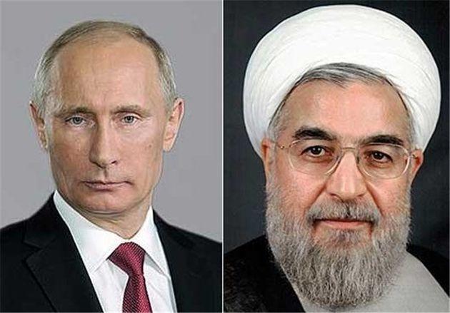 پوتین همدردی خود را با دولت و مردم ایران اعلام کرد