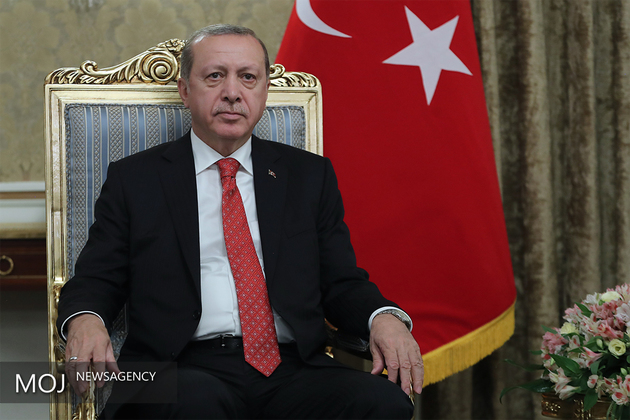 اردوغان برای سفری دو روزه وارد کره جنوبی شد