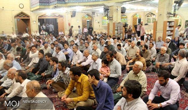 آیین سالروز سوء قصد نافرجام به جان مقام معظم رهبری در تهران برگزار شد