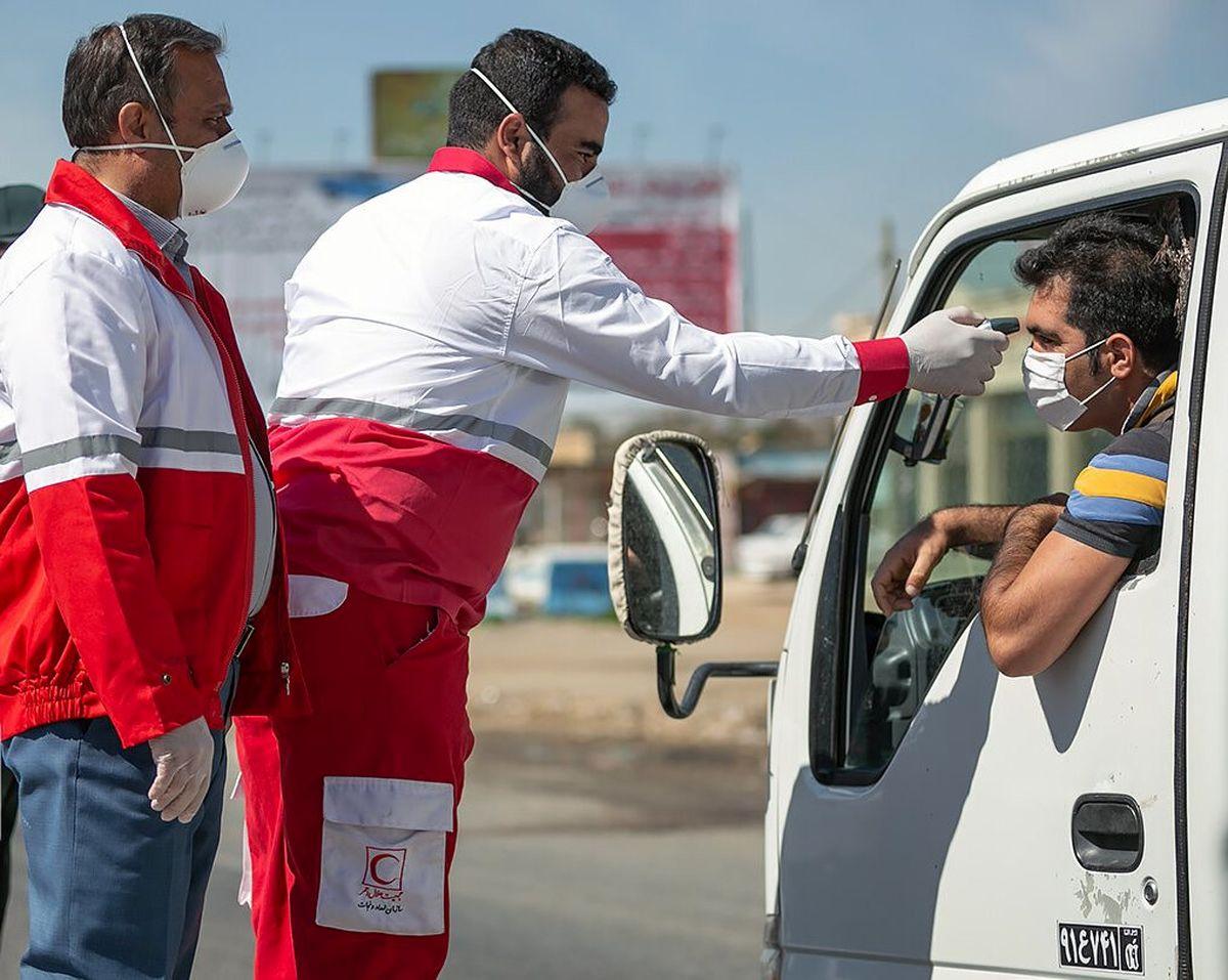 غربالگری کرونایی ۱۰۰ هزار مسافر ورودی به کشور توسط هلال احمر