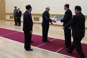معاون وزیر خارجه کره شمالی با سفیر ایران دیدار کرد