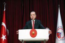 ادعای اردوغان در مبارزه با تروریسم در سوریه و عراق