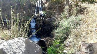 اراضی بستر رودخانه قزآن از لوله های غیر مجاز برداشت آب آزادسازی شد
