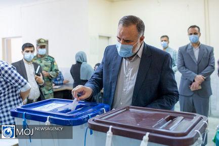 مشارکت فرماندهان و کارکنان ارتش در انتخابات ۱۴۰۰