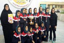 کسب مقام دوم کشور توسط تیم فوتسال دختران دانشآموز کرمانشاه