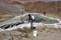 آبشخورهای پناهگاه حیات وحش سفید کوه ازنا ضدعفونی شد