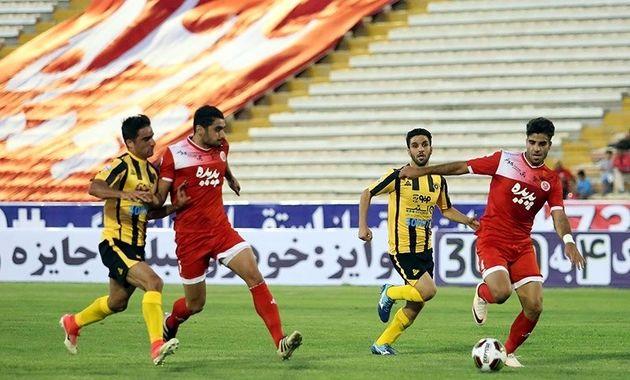 تساوی پر گل پدیده و استقلال خوزستان
