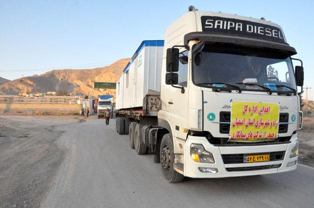 ارسال 14 کانکس به مناطق زلزله زده غرب کشور