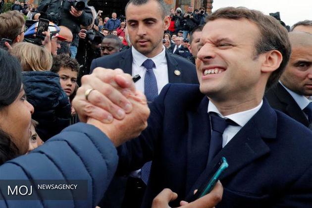 هشدار اتحادیههای تجاری فرانسه نسبت به پیروزی ماکرون