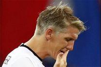 شوایناشتایگر باید از تیم ملی خداحافظی کند