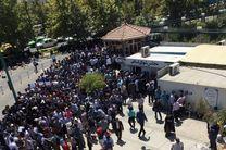 جمعی از دانش آموختگان صنعت نفت و مربیان پیش دبستانی مقابل مجلس تجمع کردند
