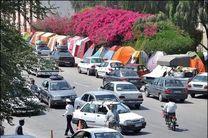 حضور 152 هزار مسافر نوروزی در اقامتگاههای کرمانشاه