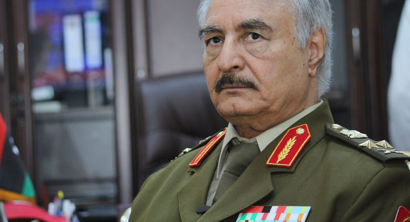 Haftar and his forces must choose political solution