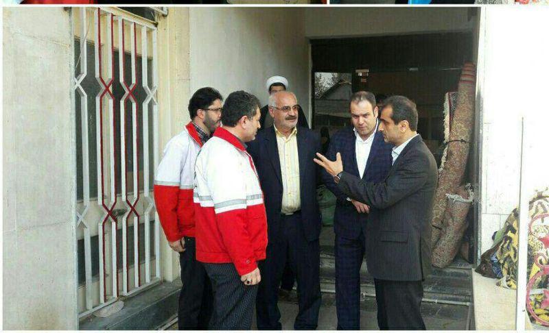 جمع آوری کمک های مردمی  برای ارسال به مناطق زلزله زده در لاهیجان ادامه دارد